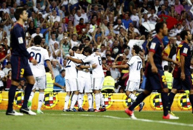 Real Madrid FC Barcelona 2-0 Supercopa España 2012