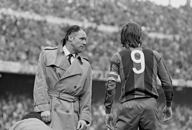 Michels y Cruyff