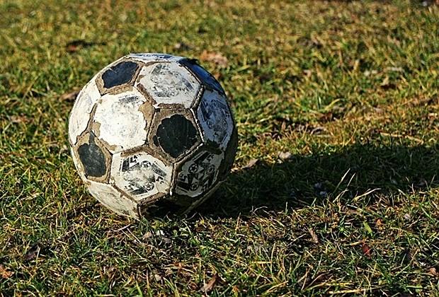 Balón desgastado