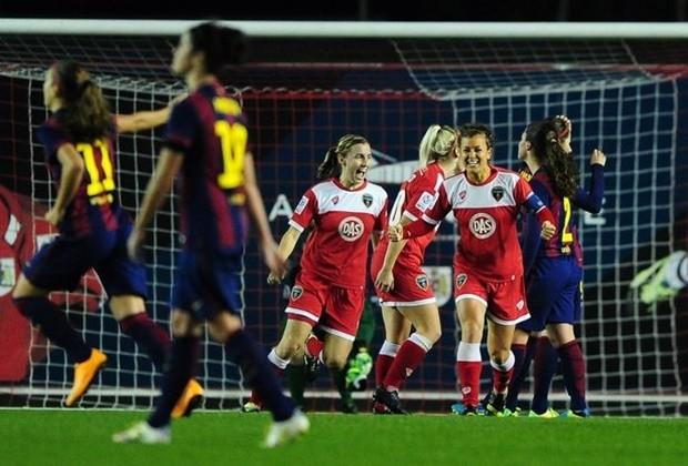El Barça femenino cae ante el Bristol Academy