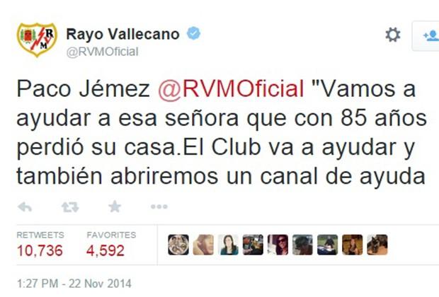 Tuit del Rayo Vallecano
