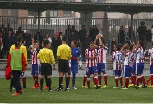 Jugadoras del Atlético de Madrid