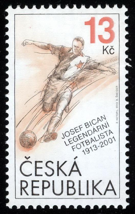 Cuando falleció, el servicio postal checo emitió sellos en su nombre (Foto expo-net.blogspot.com).
