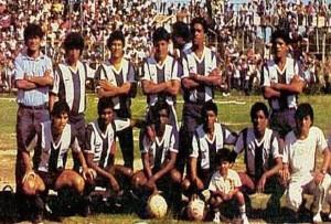 Equipo titular de Alianza Lima el 8 de diciembre de 1987