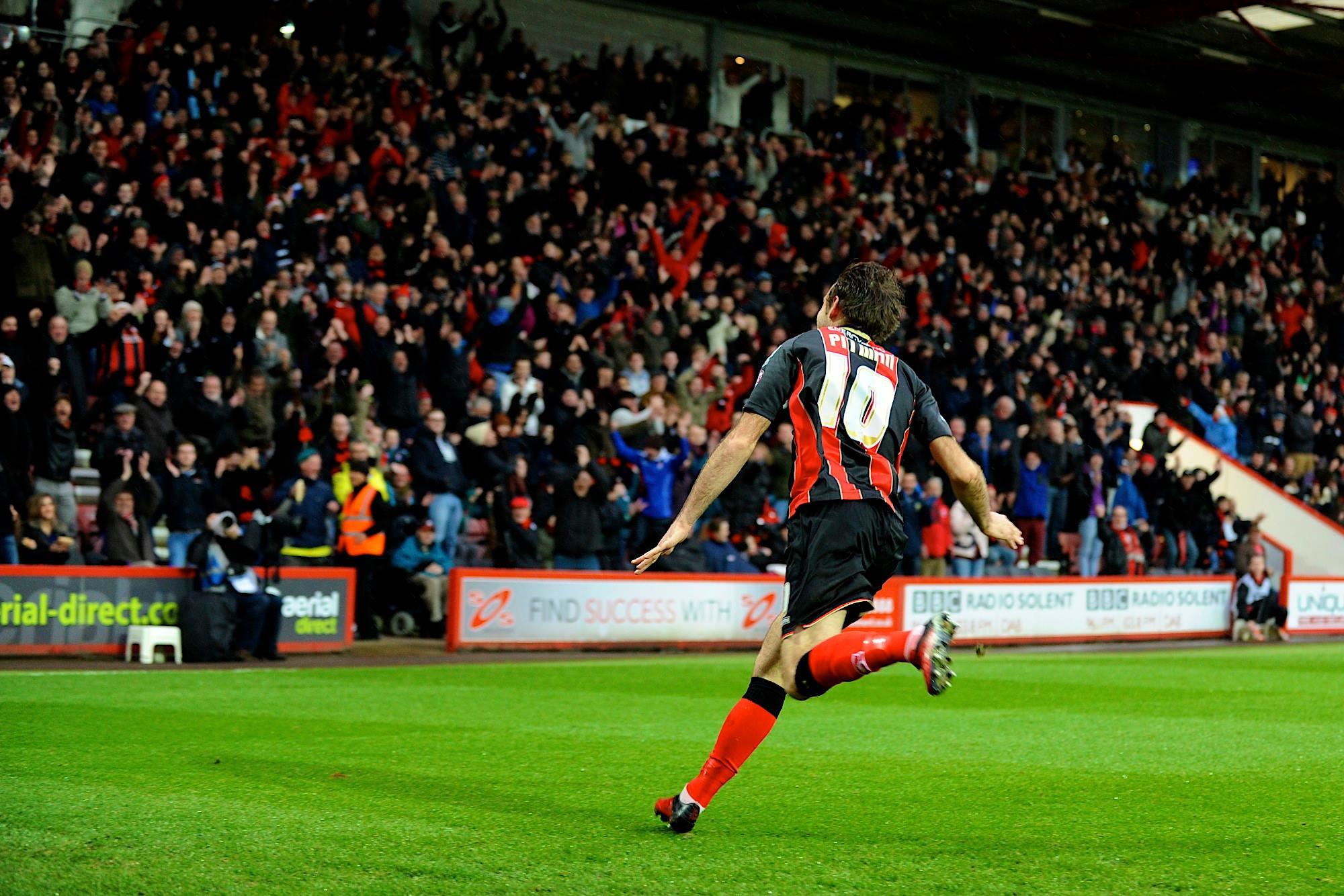 Brett Pitman gol Bournemouth