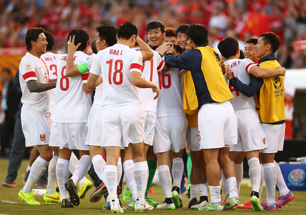 China - Corea del Norte Copa de Asia 2015