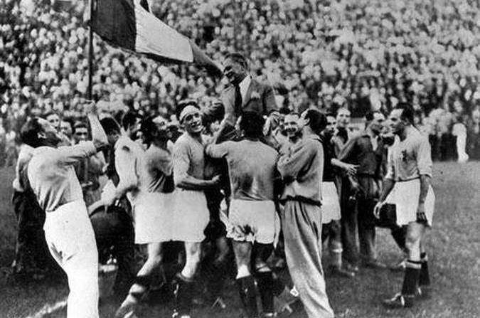 Italia campeona del Mundial 1934