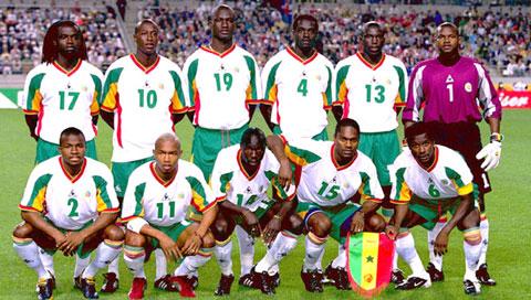 Selección Senegal Mundial 2002