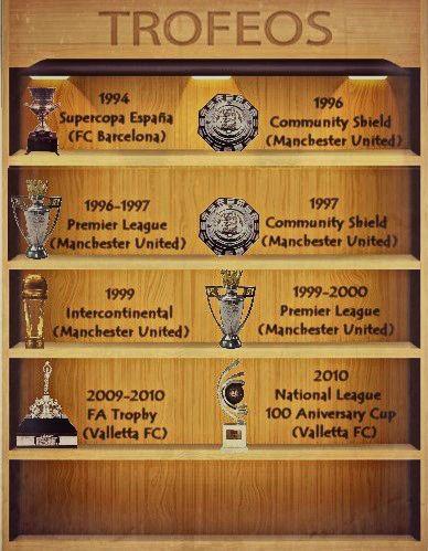Trofeos Jordi Cruyff
