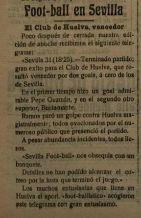 Recorte Copa diario de Huelva