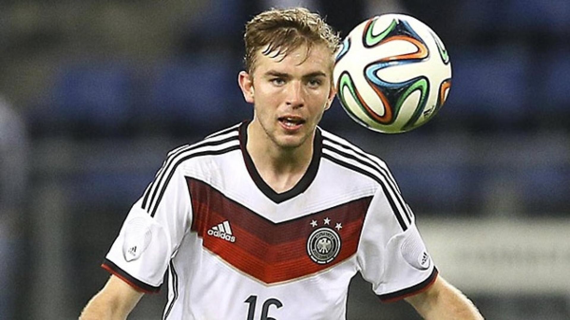 Christoph Kramer en un partido con Alemania