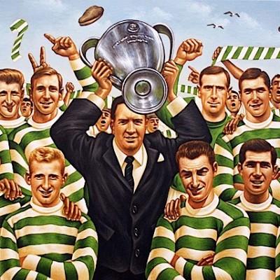 Caricatura Celtic Campeón Europa 1967