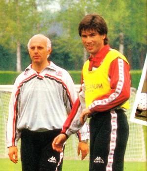 Carlo Ancelotti Arrigo Sacchi AC Milan