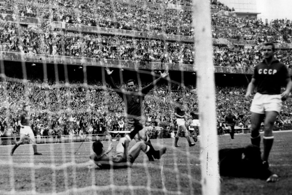 Gol de Marcelino (España 2-1 URSS)