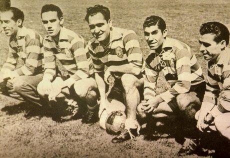 Los cinco violinos Sporting Lisboa