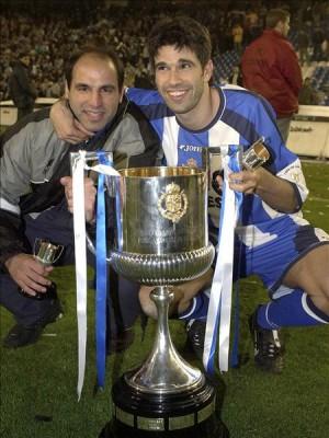 Valerón y Manuel Pablo Copa del Rey