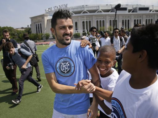 David Villa, el 'Guaje' de New York