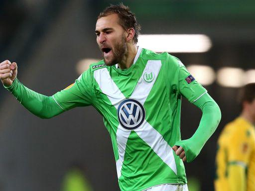 Bas Dost: goles al servicio del Wolfsburgo