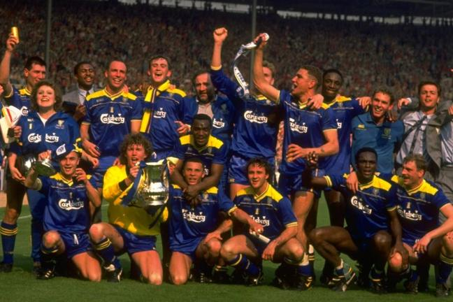 Cunningham FA Cup Wimbledon 1988