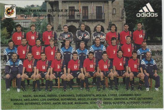 España Eurocopa Inglaterra 1996