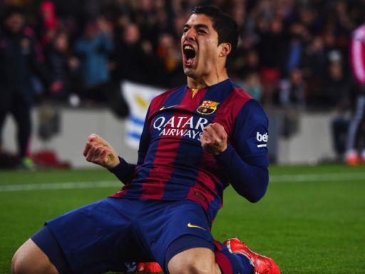 Luis Suárez, desde Barcelona con amor