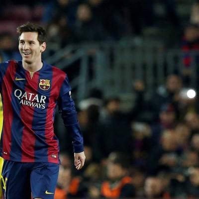 Messi festeja gol