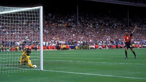 Penalti Hierro Seaman Eurocopa 1996