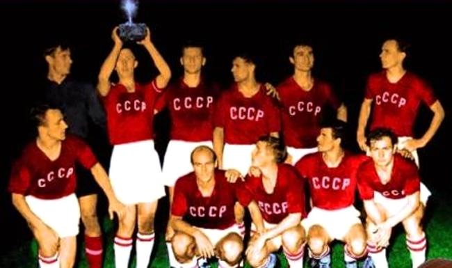 URSS campeón Eurocopa 1960