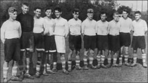 Yashin en el equipo juvenil de su fábrica