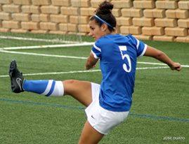 Laura Díaz ha tenido que dejar el fútbol por el trabajo