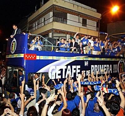 Getafe ascenso primera división