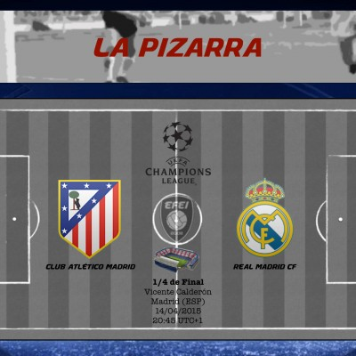 UEFA Champions League Atletico Real Madrid La Pizarra