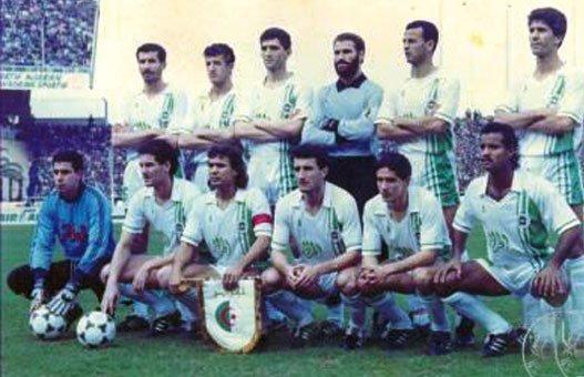 Madjer capitán Argelia CAN 1990