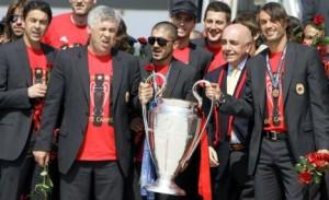 Ancelotti Gattuso Champions 2007