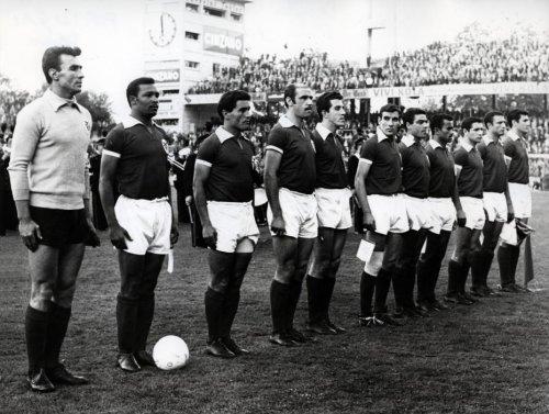 Benfica Copa Europa 61