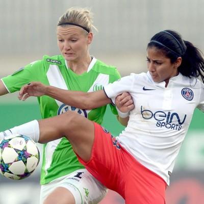 Paris Saint Germain y Wolfsburgo son dos de los mejores cuatro equipos de Europa (Foto: nacion.com)