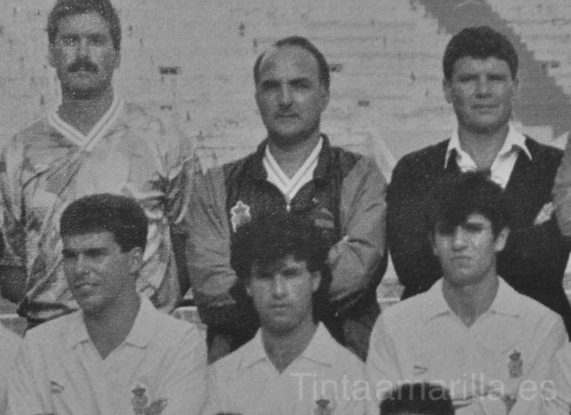 Iñaki Sáez y M.A. Valerón en la UD Las Palmas