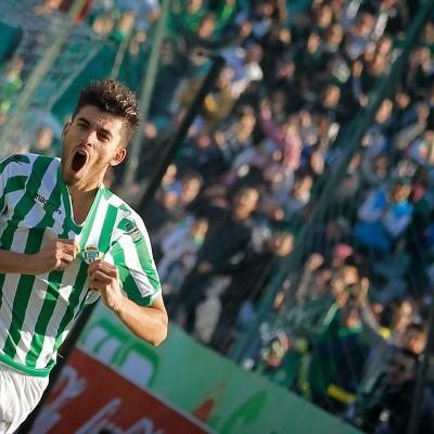 Dani Ceballos celebrando un gol