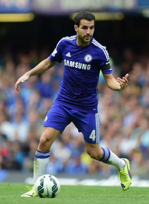 Cesc Fábregas Chelsea 2015