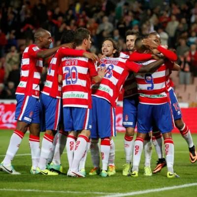 Granada celebración gol 2015