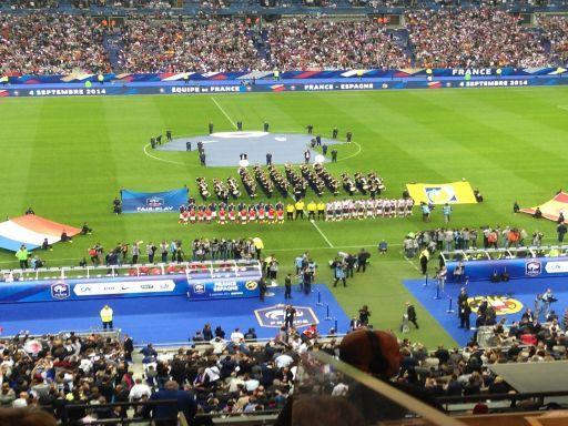 Francia y España, diferencia de himnos