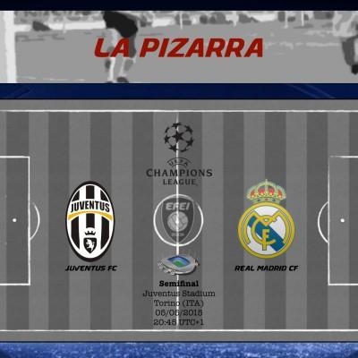 UEFA Champions League Juventus Real Madrid Pizarra