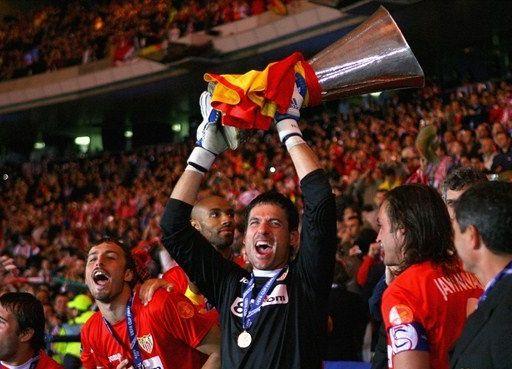 Sevilla FC, rey de la UEFA