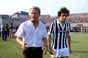 Trapattoni y Platini Juventus