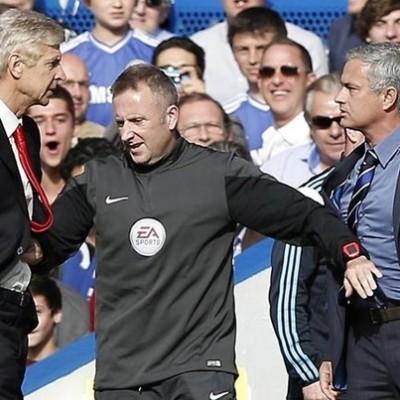 Chelsea Mourinho vs. Wenger 2015 (Foto: ibitimes.co.uk)