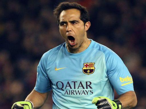 Claudio Bravo: seguridad en el arco del campeón de Liga