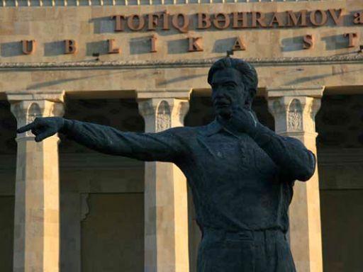 Bakhramov inició la obra