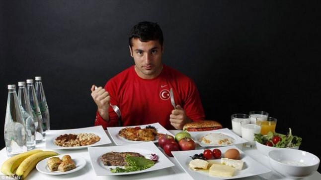 Dieta futbolista
