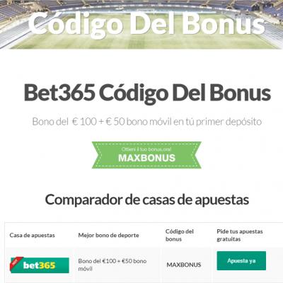 Codigo Bet365