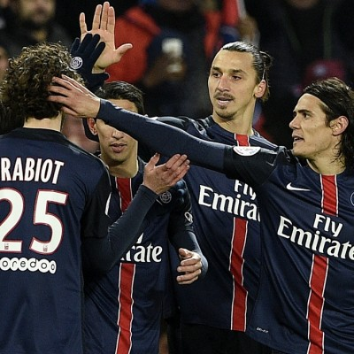 PSG celebracion gol